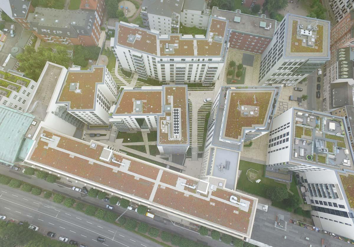 Lichtenstein - Außenanlagen Alstercampus
