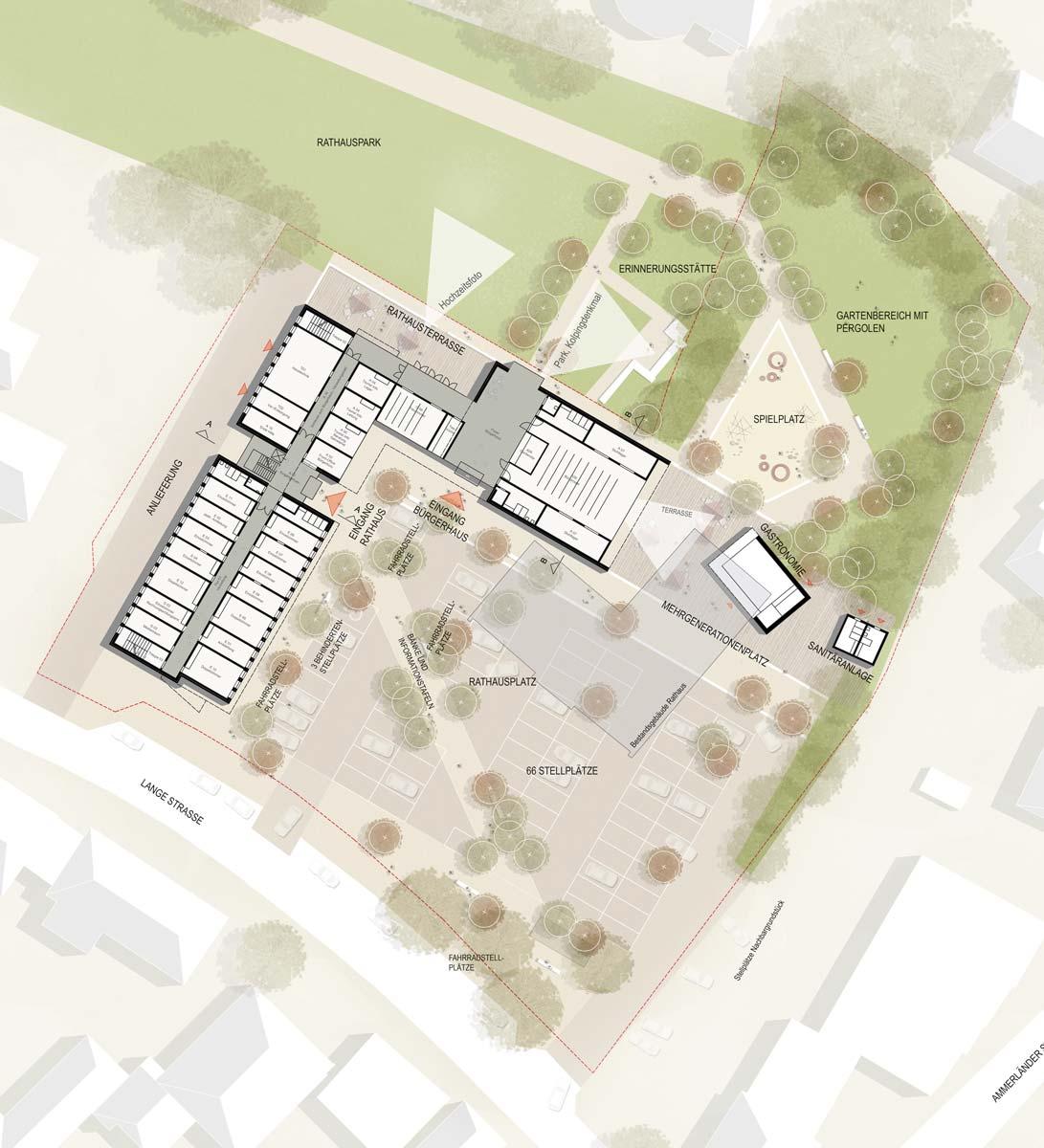 Lichtenstein Wettbewerbe Rathaus Barßel